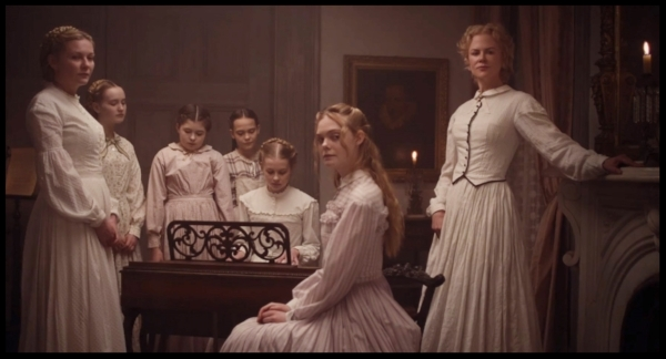10.   The Beguiled      The Beguiled   is Sofia Coppola's hardest film hidden beneath her signature soft focus. If we've learned nothing else from 2017, I hope it's that women are through being treated as less than equals. And that those who treat them as anything less than the multi-layered, intelligent, empathetic, caregiving, life-giving beings they are risk being served a slow, painful death the next time they're invited to supper.