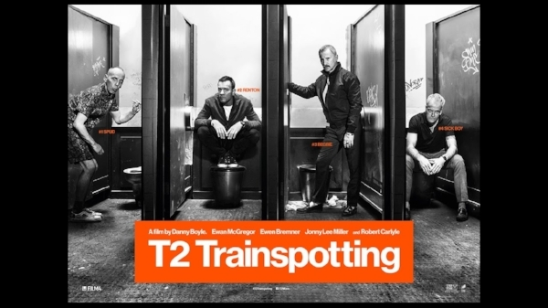 8.   T2 Trainspotting    To be honest, I didn't expect to like this film.   Trainspotting   was such a product of its time that even hearing that Danny Boyle and the original cast were on board didn't instill me with hope. I'm happy to say I was wrong. I'm also happy Boyle didn't spend too much time throwing us back into the past and that when he did, he did it with style. Sad as it may seem, I'm also glad these boys didn't find their happy ending, because who would have ever believed that, anyway? This sequel stays true to the characters in a way I've never seen accomplished with a gap of so many years between films. It was fun to revisit the gang.