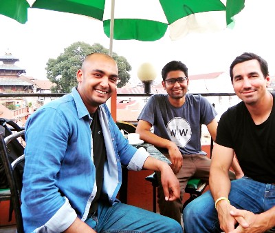 Nimesh, Suresh, and David