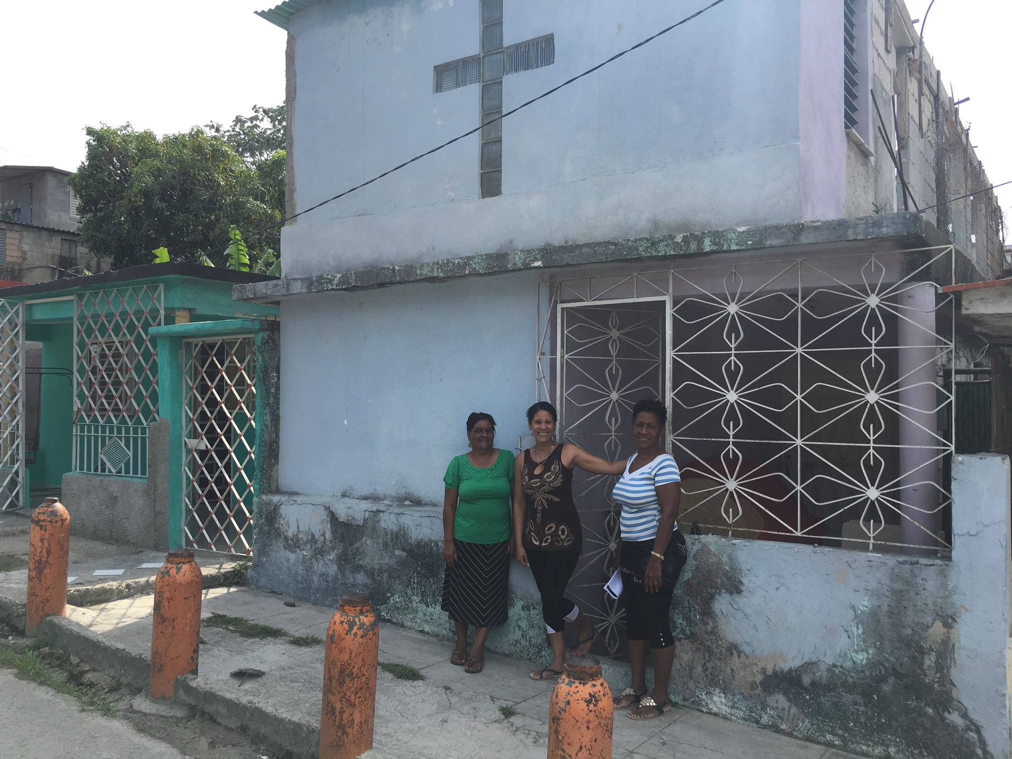 A home church visited