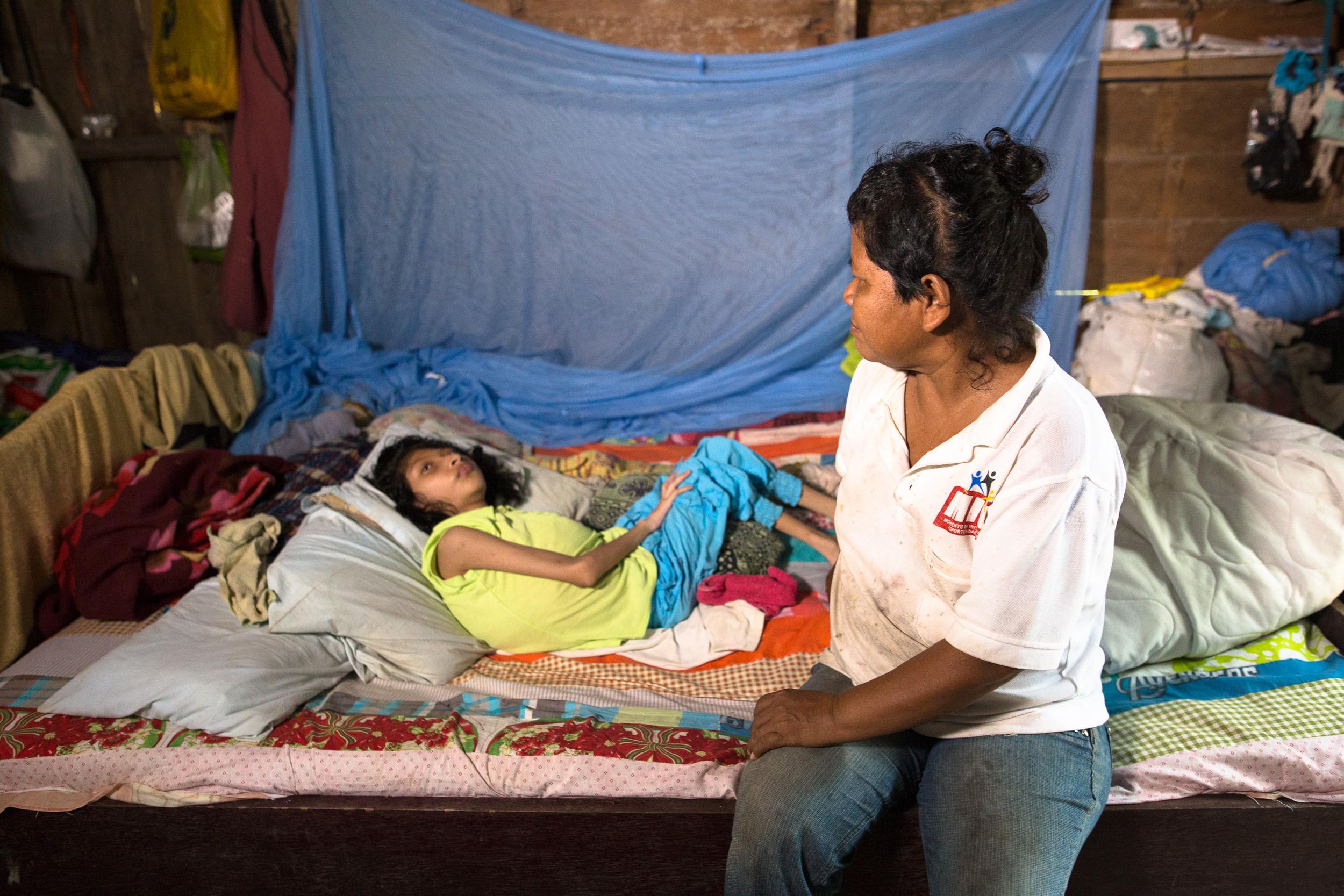 Maximo's daughter has special needs, which is not easy in San Jose de los Rios