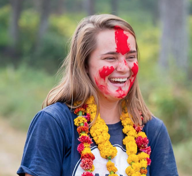 Former Nepal Fellow and current Content Creator Jaleigh Jensen