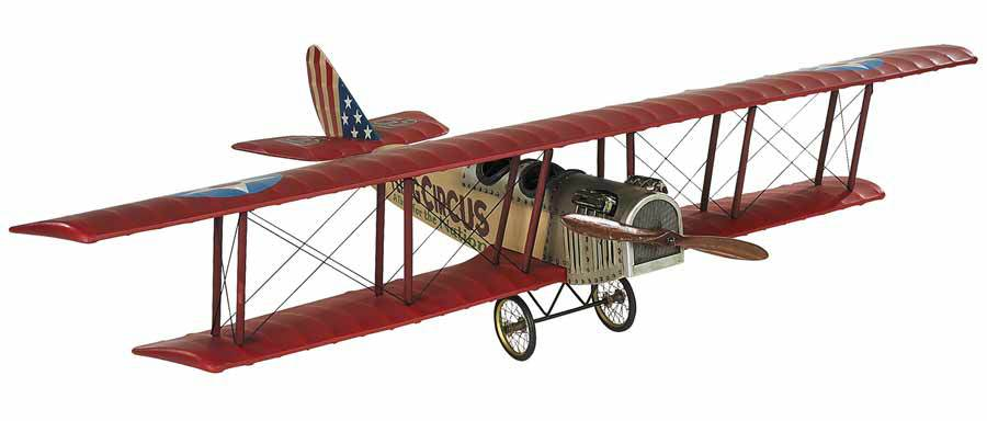 Flying Circus Jenny Model Airplane by Authentic Models