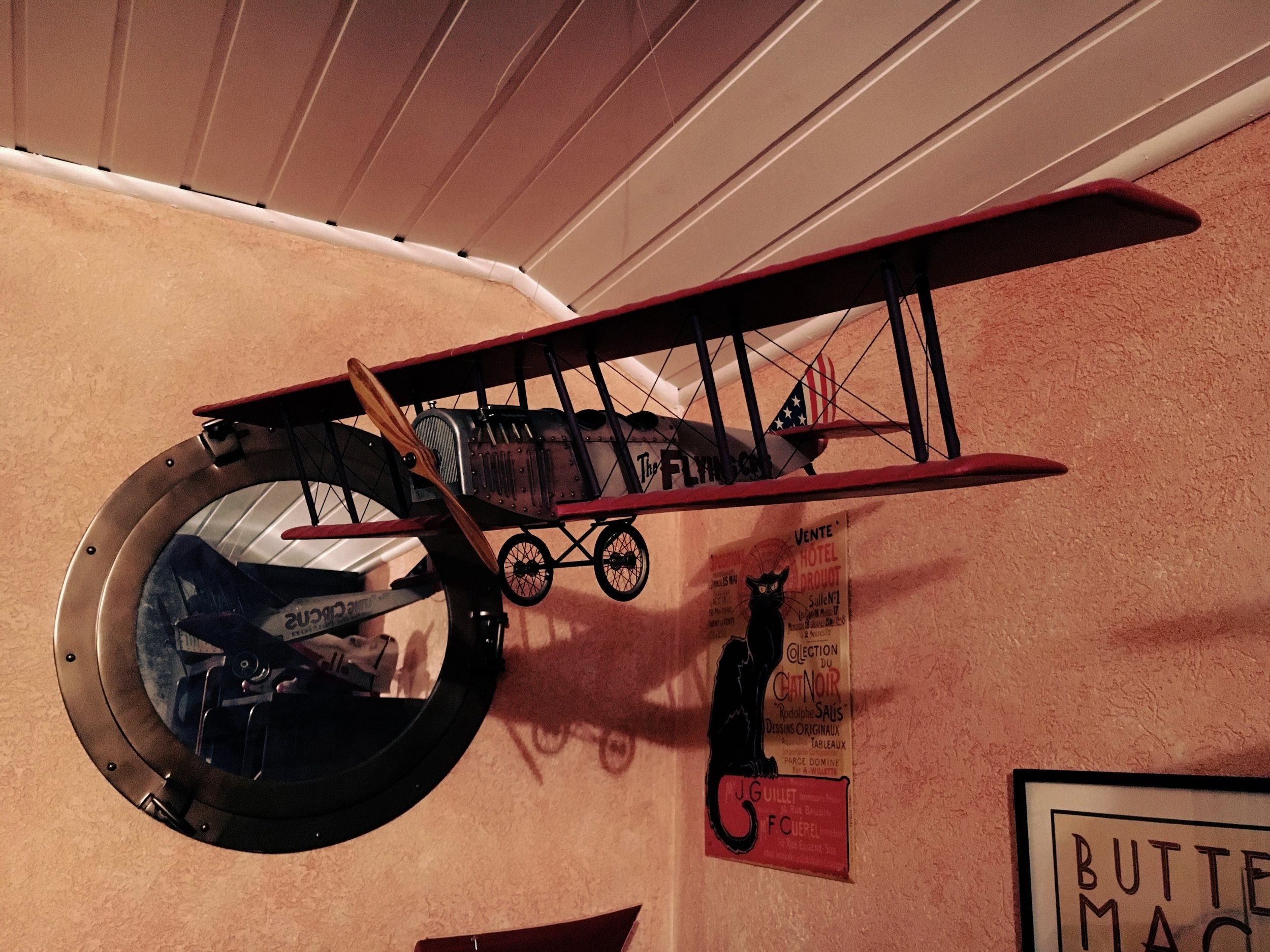 The Flying Circus hanged in my office