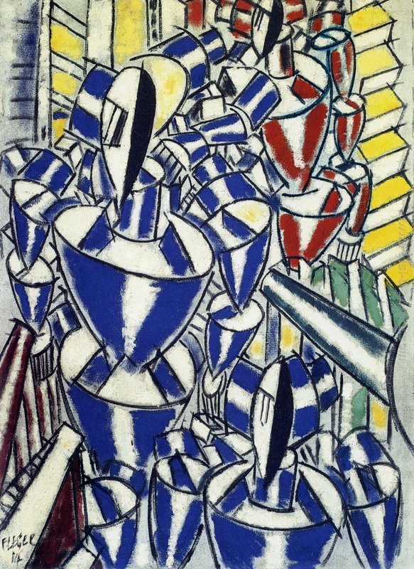Fernand Léger, Exit the Russian Ballet