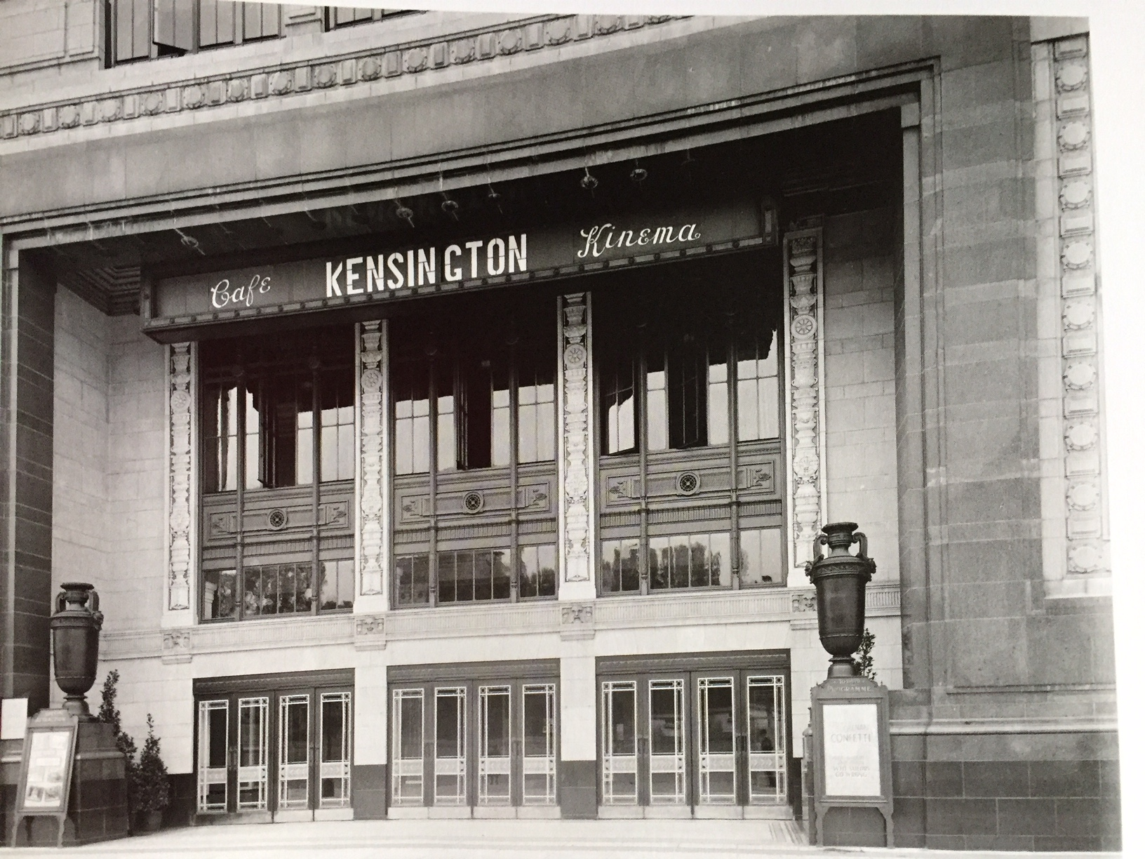 The Kensigton Cinema London 1926