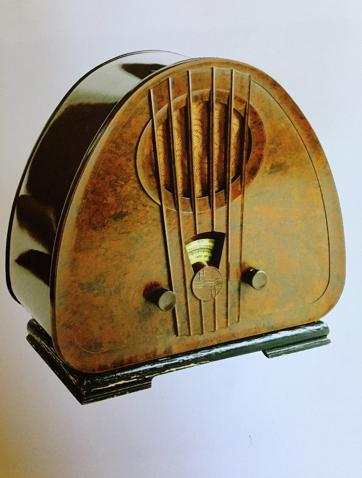 Philips Company, Radio model 834A in bakelite 1933