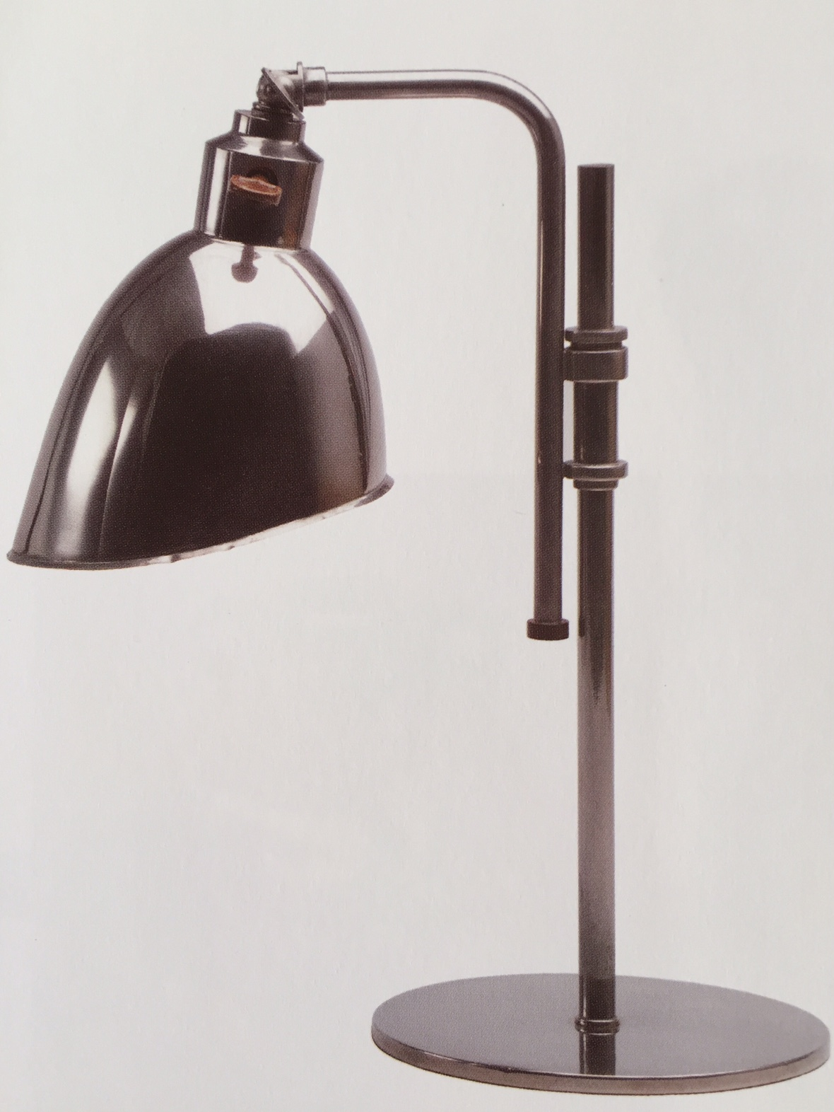 Christian Dell, table lamp, 1926