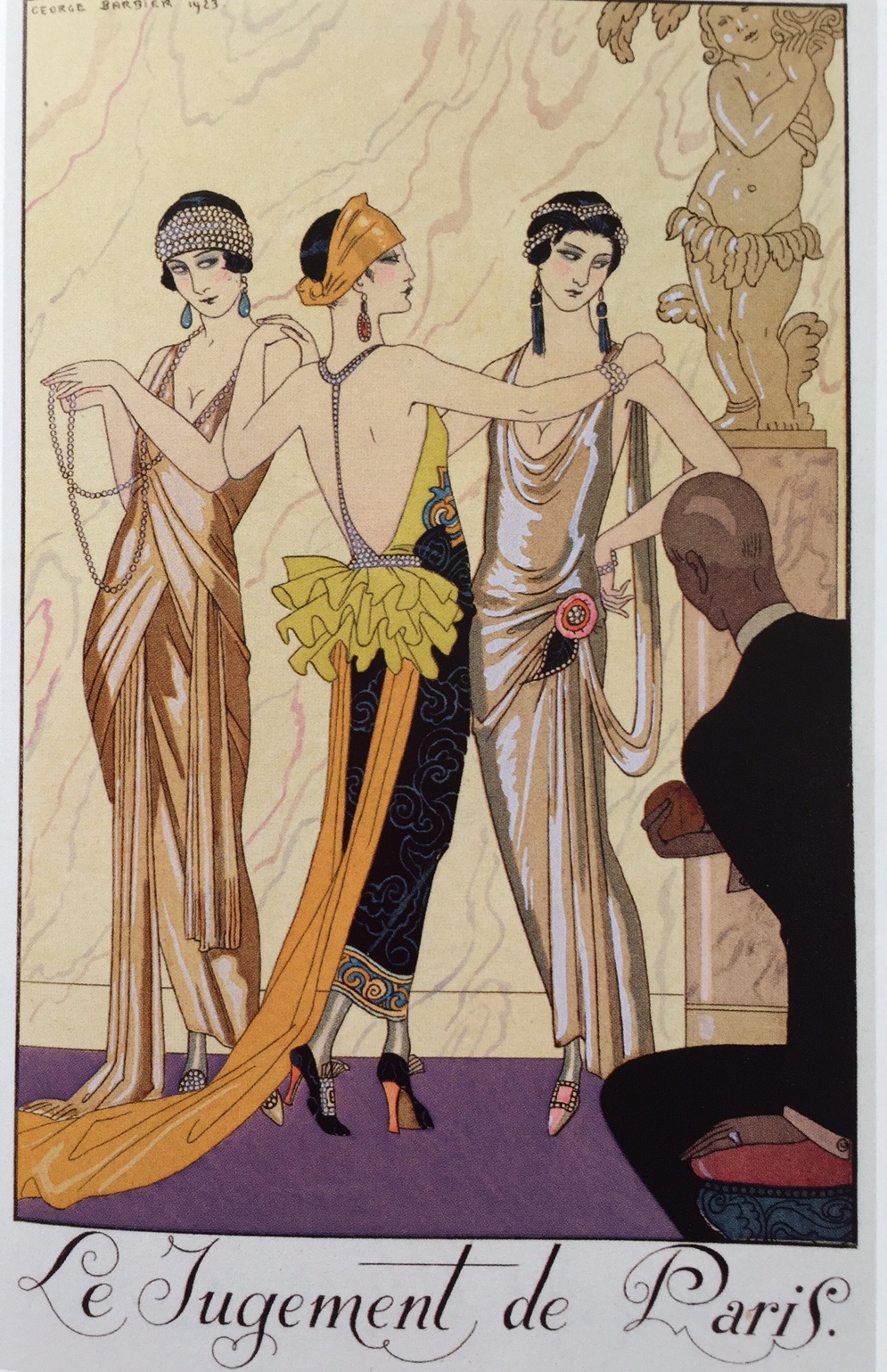 Georges Barbier, The Judgment of Paris, 1923