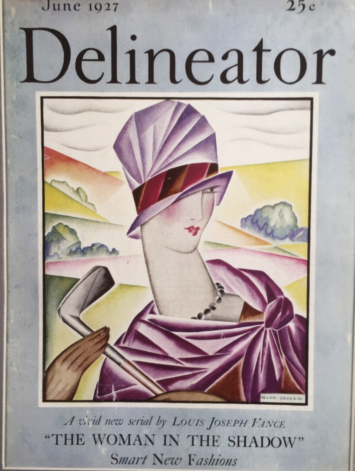 "Front Cover of the magazine ""Delineator"", 1927"