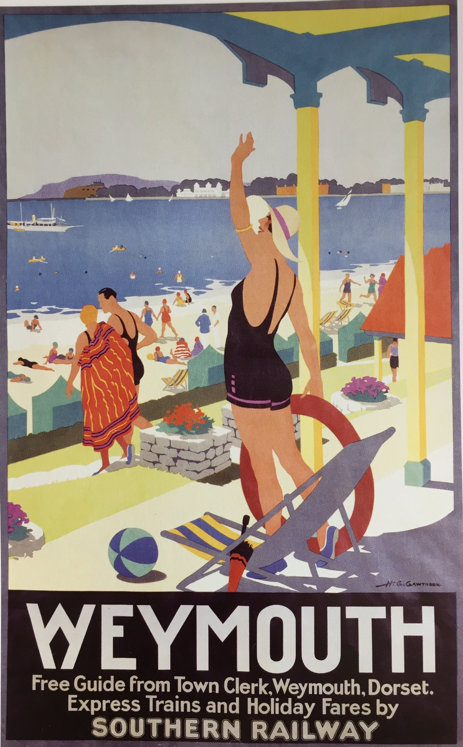 Henry George Gawthorn, Advert for Weymouth, 1931