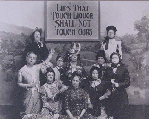 The campaign of Temperance. The Women's Christian Temperance Union (W.C.T.U.), the oldest non-secretarian women's organization worldwide.  It was organized in 1874 at a national convention in Cleveland, Ohio.  Their main aim was to fight for prohibition.