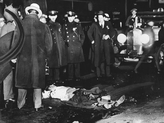 During the 1920 Chicago gangsters reigned supreme  and executions between local gangs were constantly in the agenda.