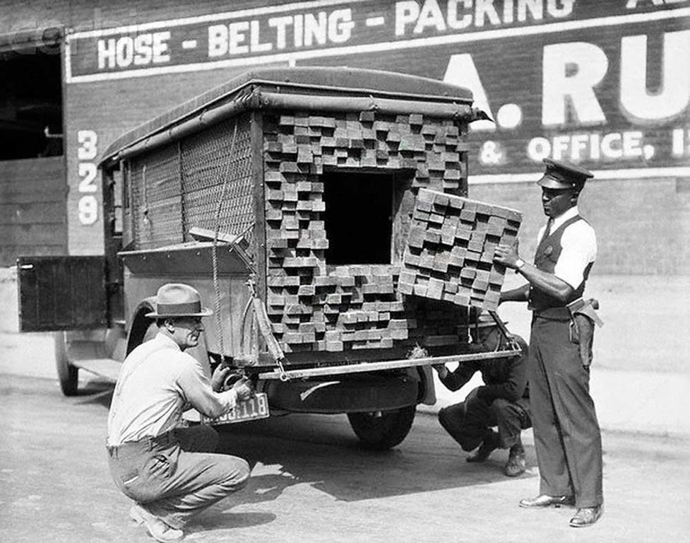 A bootlegger trunk in disguise