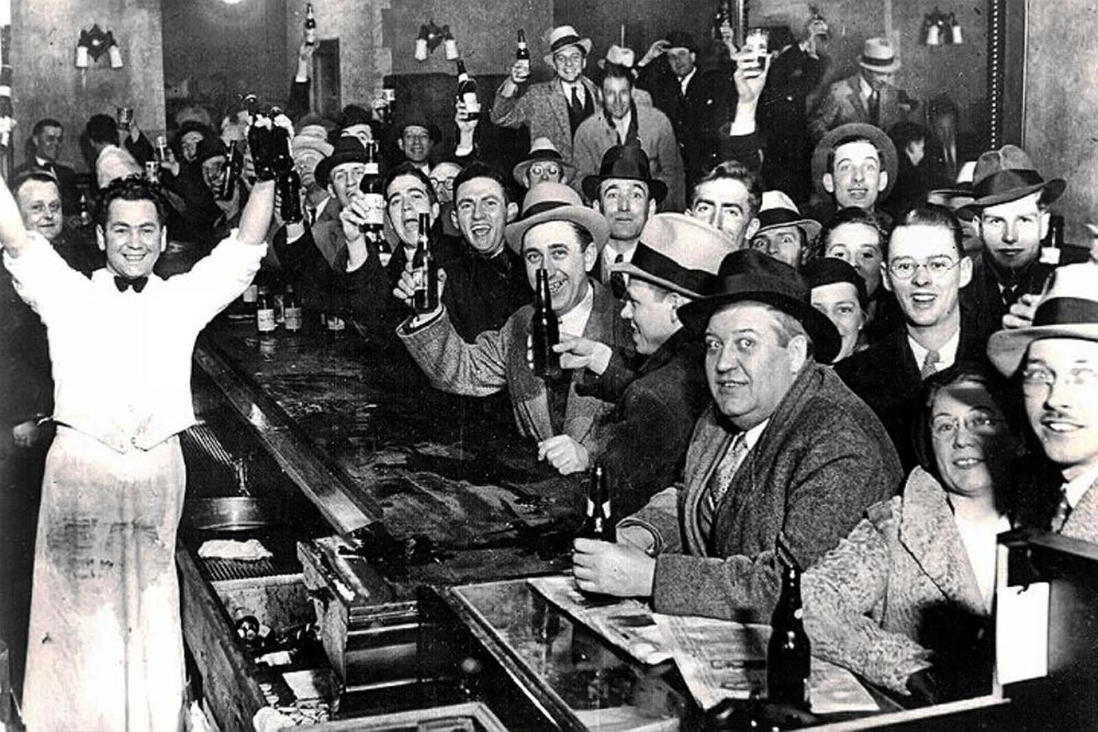 Bye Bye Volstead Law! Prohibition ends at last!