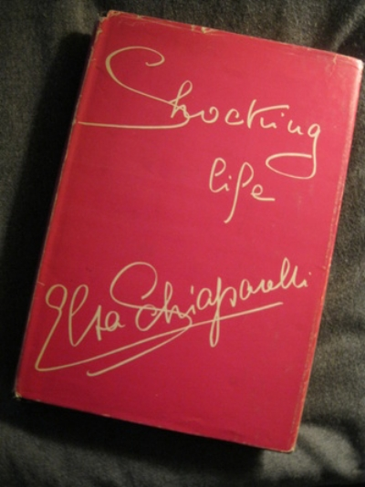 """A fascinating look inside 'Schiap's life. Soon after Elsa Schiaparelli closed her activity in 1954 she wrote her autobiography named """"Shocking Life"""""""