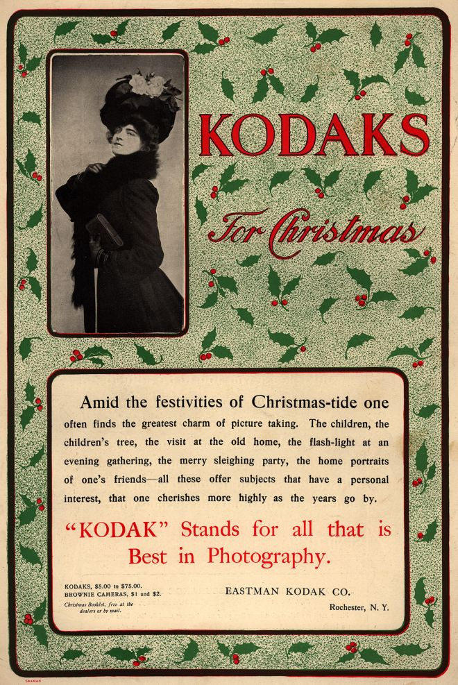 Kodaks For Christmas, 1910