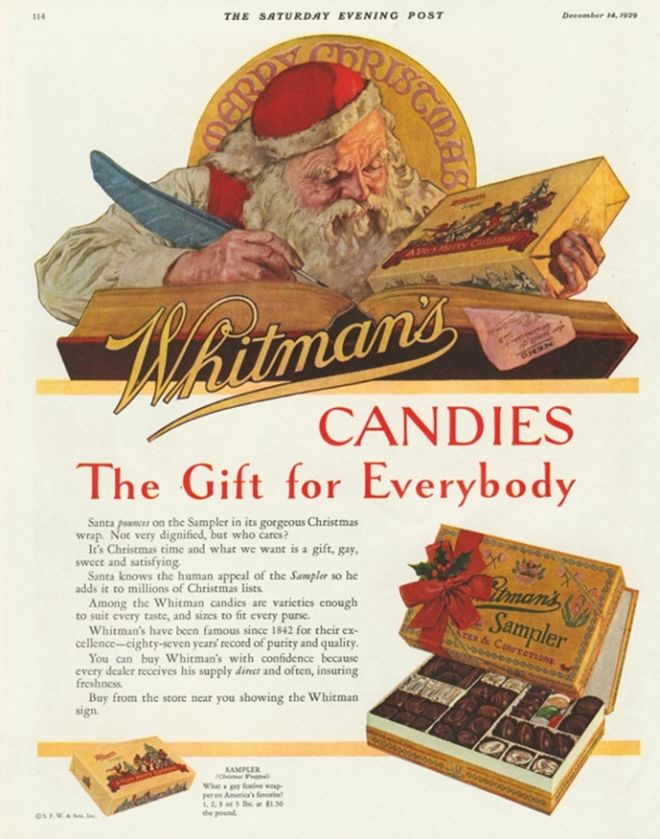 Whitman's Candies, 1920