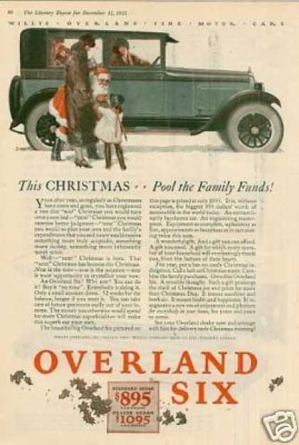 Willys-overland Six Color Ad, 1925