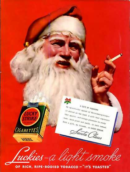 Lucky Strike cigarettes, 1936