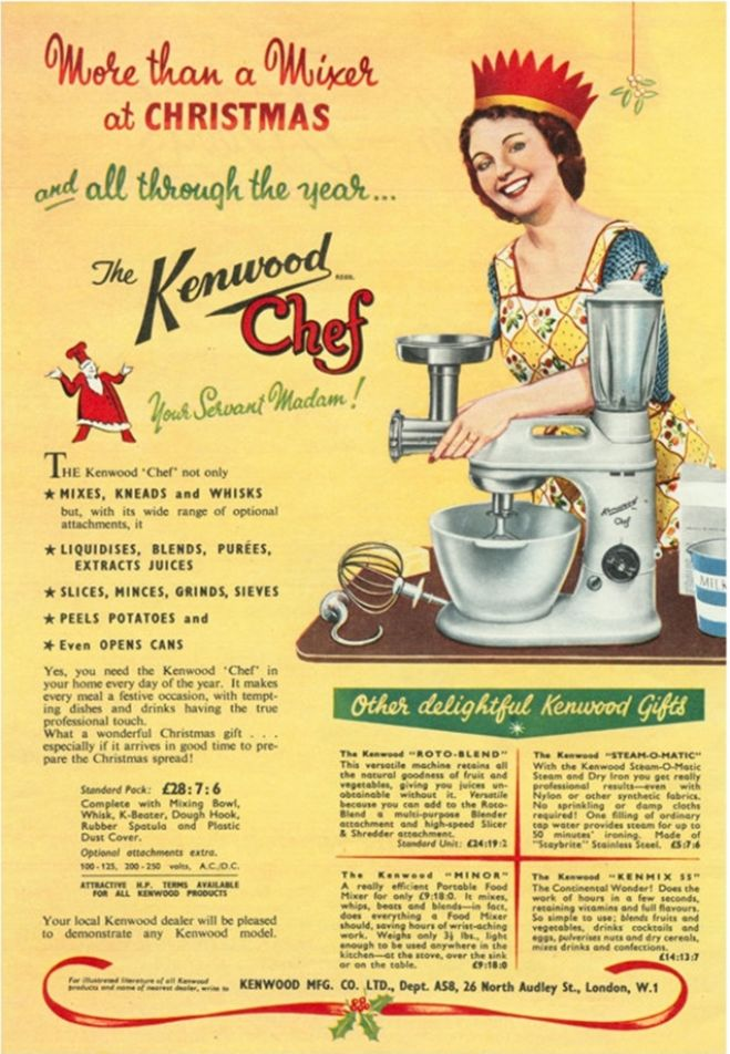Kenwood Chef, 1930