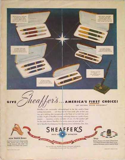 Sheaffer's Pen Christmas (1949)