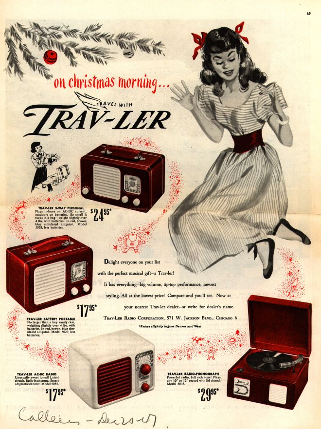 Trav-Ler Radio Corporation's Various, 1947