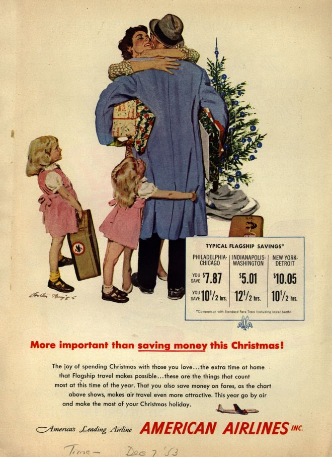 American Airline's Holiday / Business Travel (1953)