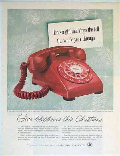Bell Telephone Holiday – Red Phone (1957)
