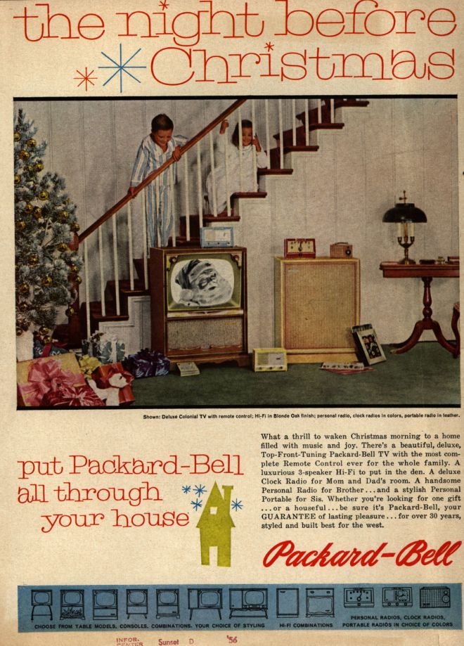 Packard-Bell's Television, 1956