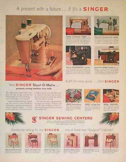 Singer Sewing Centers (1957)