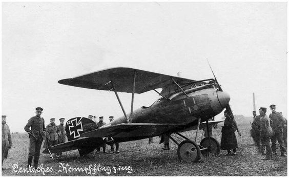 "Albatros D.III fighter plane of Manfred von Richthofen. It was the preeminent fighter during the period of German aerial dominance known as ""Bloody April"" 1917."