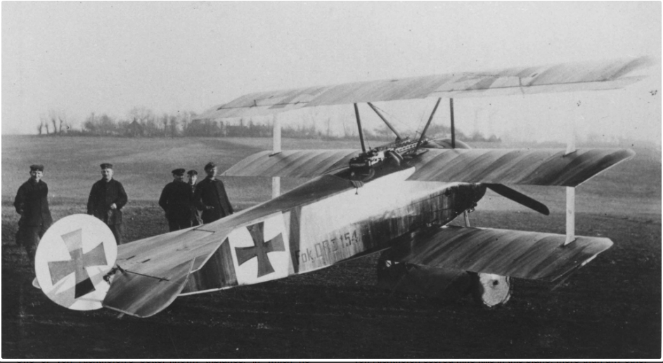 "Even though most of the Red Baron victories in battles were scored with Albatros D.III, the Fokker Triplane DR.1. Richthofen's bright red Fokker aircraft earned him the nicknames ""red knight,"" ""red baron,"" and ""diable rouge,"" and his habit of moving the squadron with tents and equipment from base to base gave rise to the sobriquet ""flying circus."""
