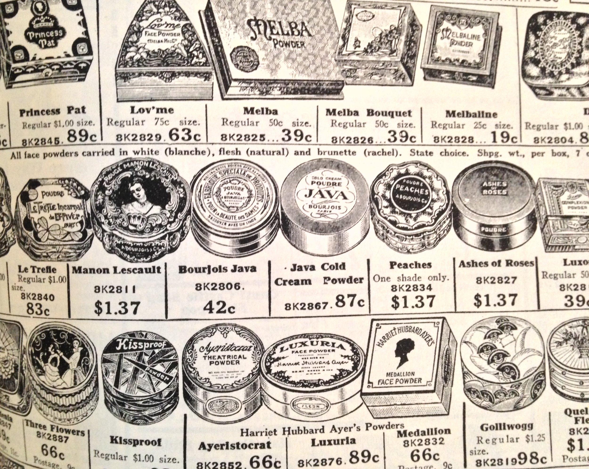 After the 1920, the industry of cosmetics literally exploded to cover the growing demand of make up.