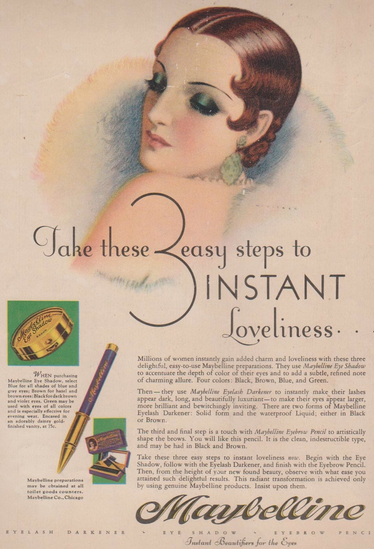 Maybelline, 1920s