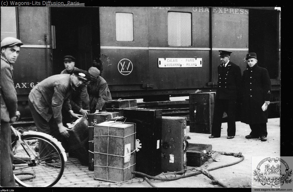 Luggage carries, CIWL archive, 1920s