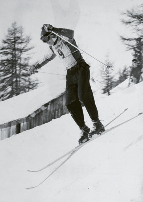 Henri Oreiller, downhill and combined, 1948