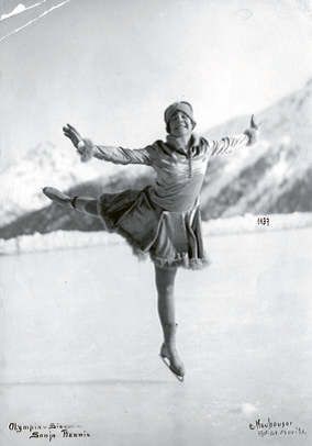 Sonja Henie, Legend in figure skating, 1928