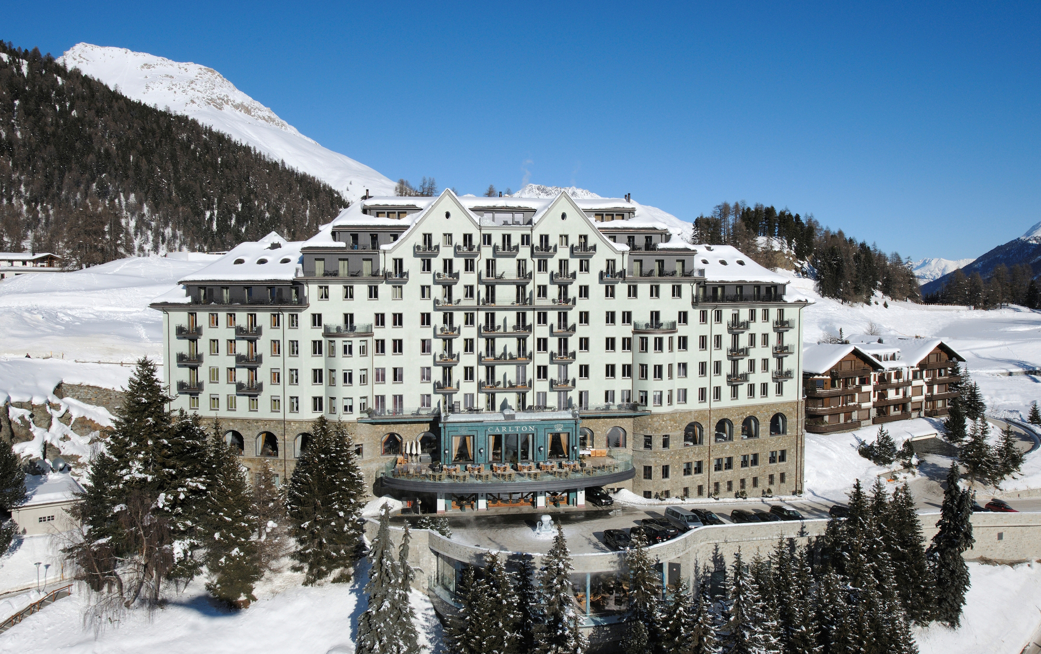 The Carlton Hotel in Saint Moritz