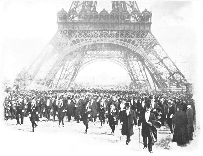 The inauguration of the Universal Exposition of Paris, April the 14th 1900