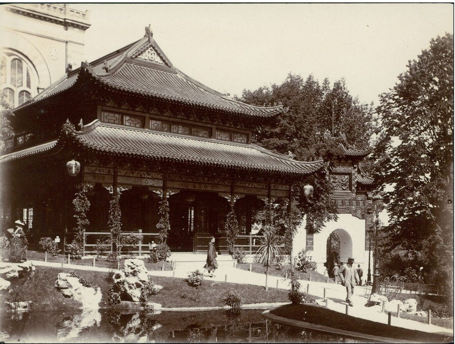 The Chinese pagoda pavilion, 1900