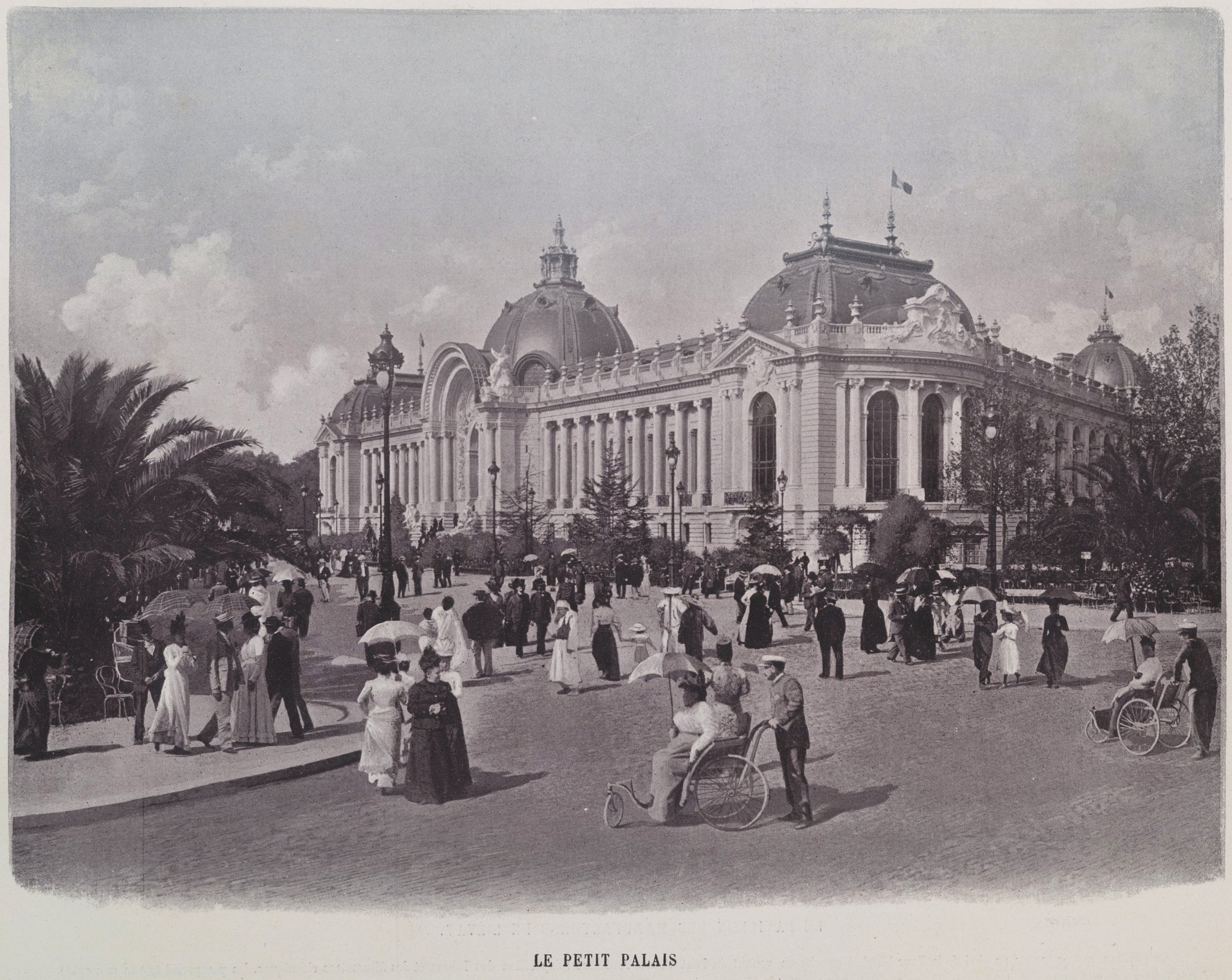 The  Petit Palais  from a different viewpoint , 1900