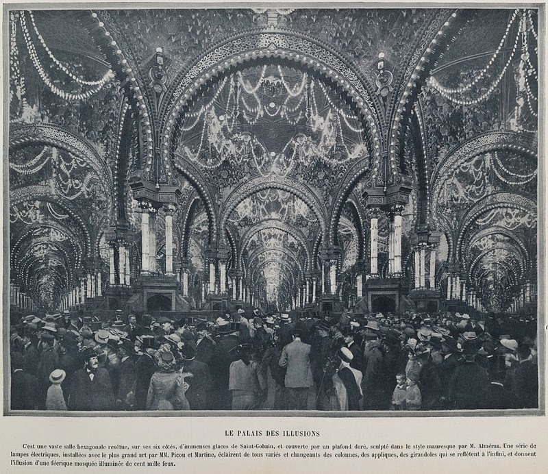 Inside the Palace of the Illusions, 1900