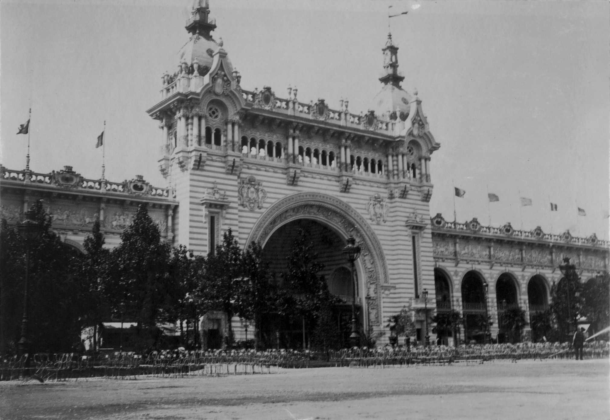 Palace of Civil Engineering and Transportation, 1900
