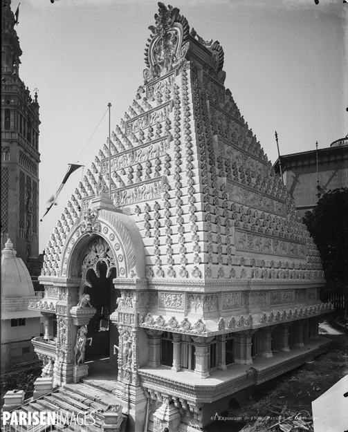 The Cambodian Pavilion, 1900