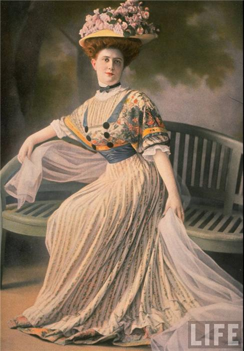 Jeanne Paquin, Day Dress, 1907