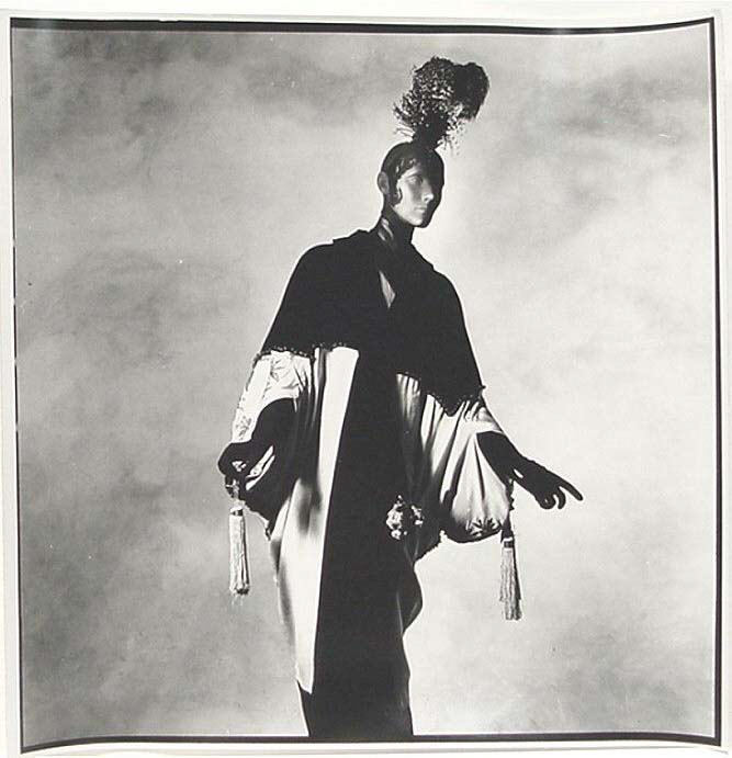Jeanne Paquin, Opera Coat, 1912, photographed by Irving Penn, ca. 1974, The Metropolitan Museum of Art,New York