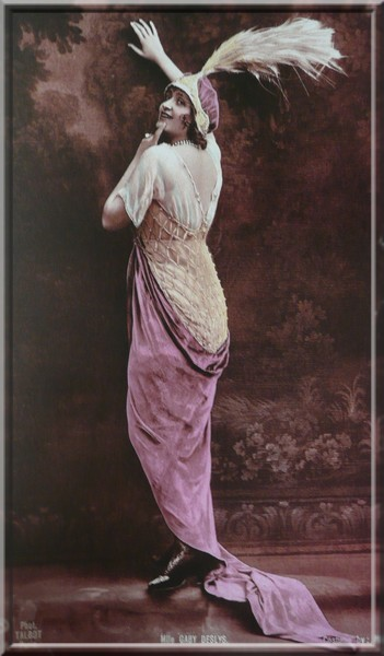 Gaby Deslys in Jeanne Paquin Dress, 1916, Victoria and Albert Museum, London