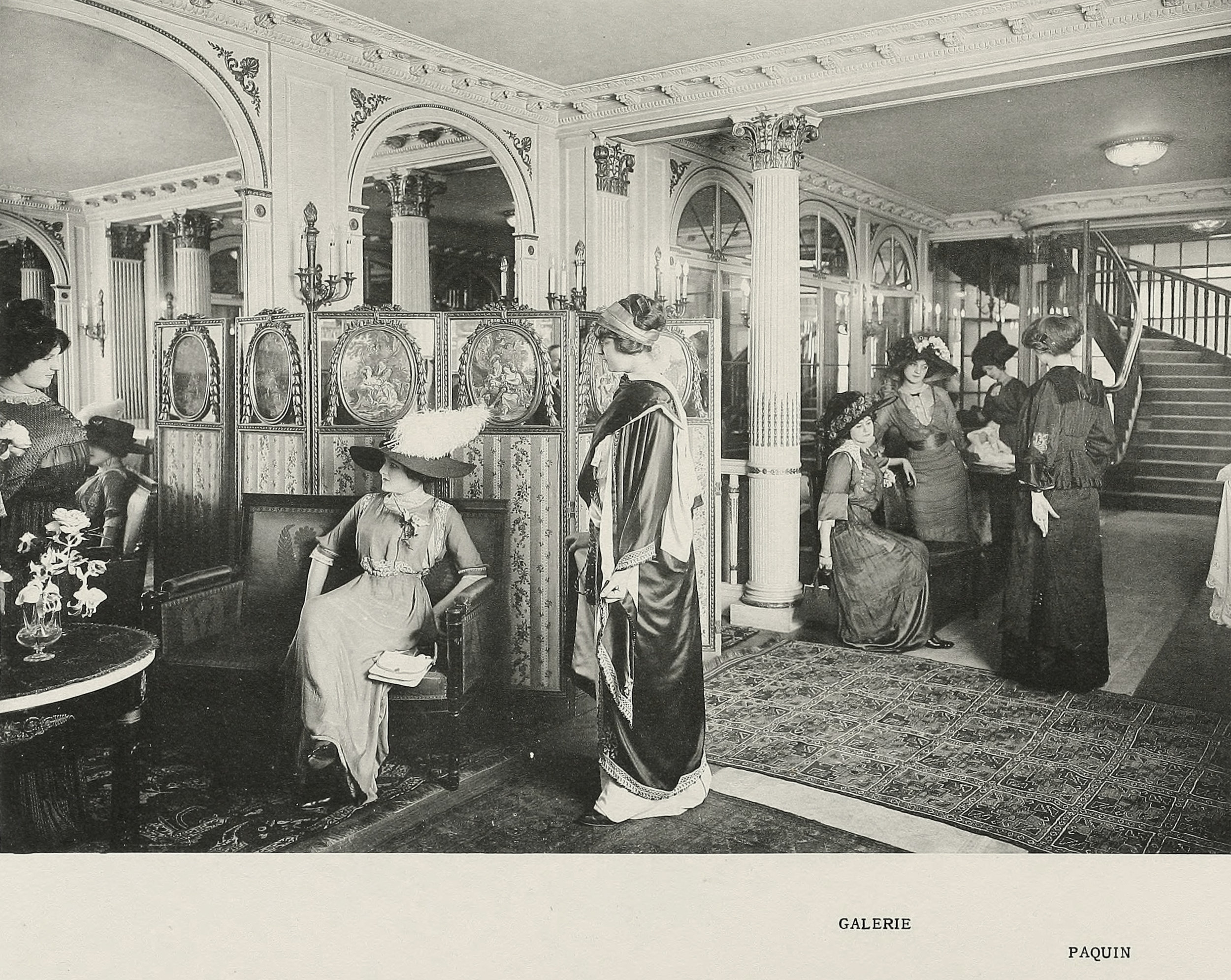 Inside the House of Paquin, 1910