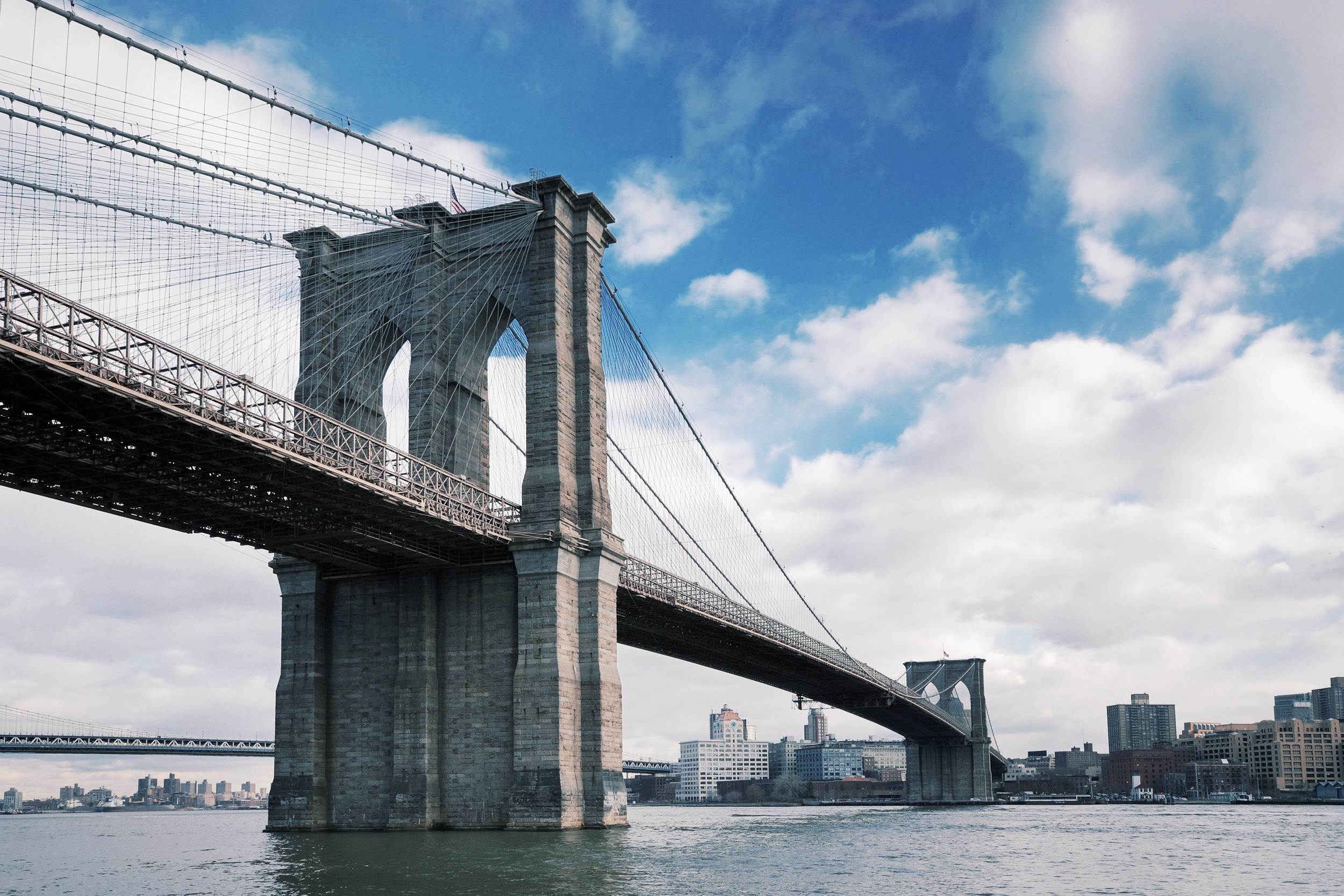 Its symbol, the quintessence itself of Brooklyn's city, The Brooklyn Bridge